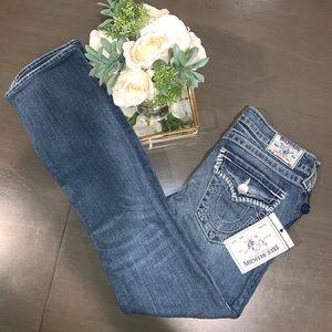 ❤️ True Religion jeans. Straight leg,Med wash. NWT